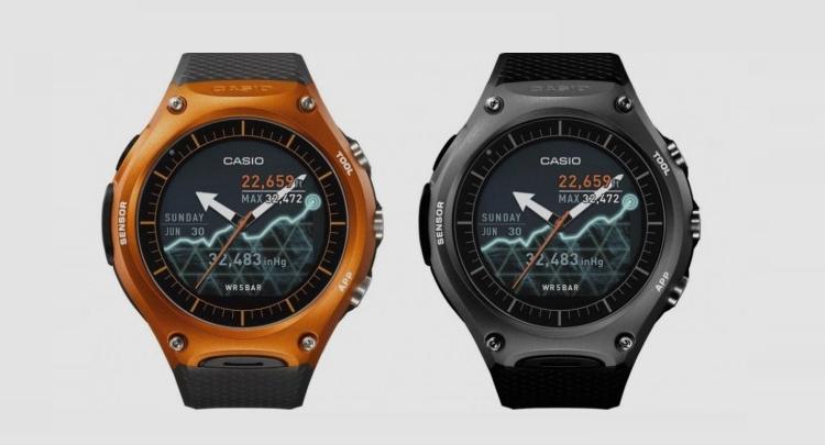 Casio WSD-F10, lo smartwatch super resistente in vendita dal 25 Marzo