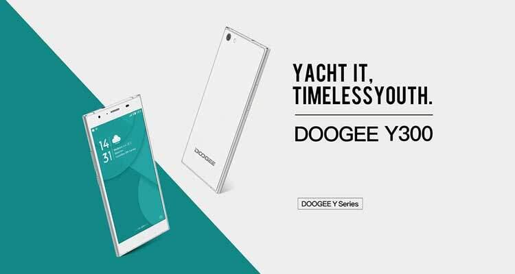 Doogee Y300 è ufficiale: economico e aggiornato