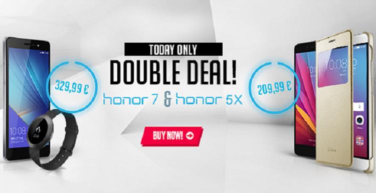 Honor 7 e Honor 5X, ecco gli sconti del 10 Marzo