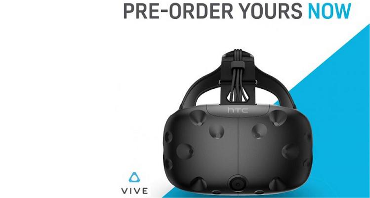 HTC Vive, esordio col botto: 15mila preordini in 10 minuti!