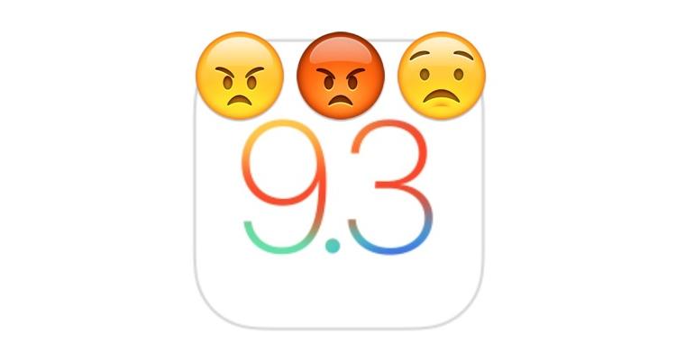 iOS 9.3, è polemica sul bug che blocca Safari e altre app di sistema