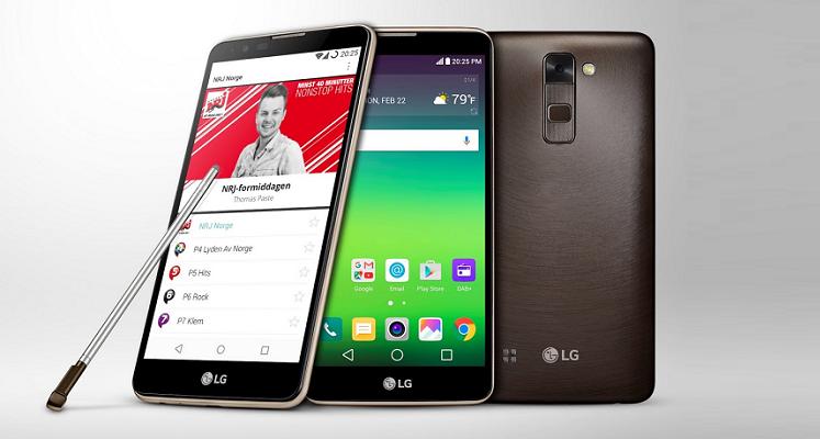 LG Stylus 2, primo al mondo con Digital Audio Broadcasting