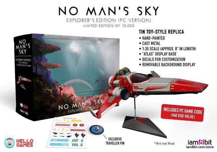 no man's sky collection edizione limitata preorder