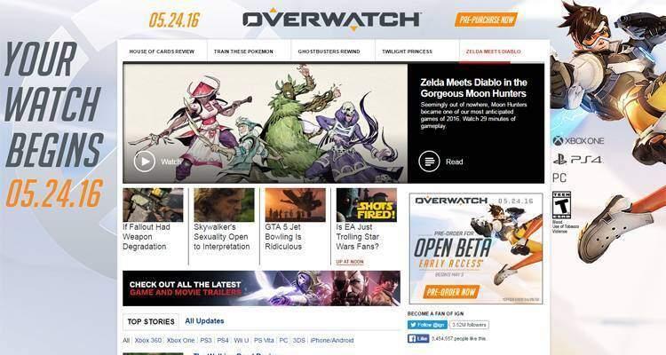 Overwatch: uscirà il 24 maggio?