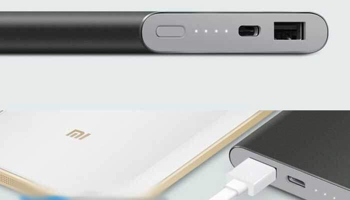 Xiaomi rilascia una power bank con porta USB di tipo C