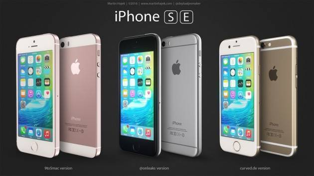 iPhone SE appare in nuove immagini render