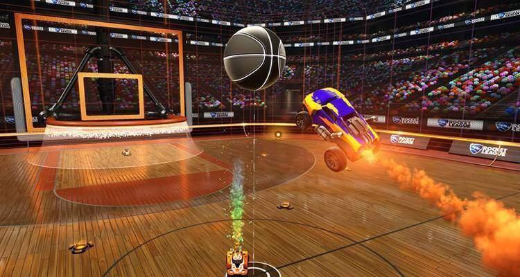 Rocket League passa dal calcio al basket