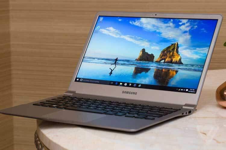 Samsung: ufficiali quattro notebook ultrasottili