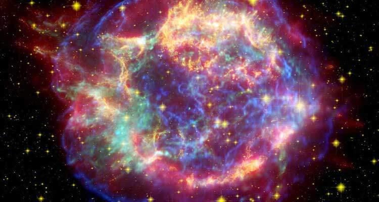 Filmata l'esplosione di una supernova: l'origine di tutto!