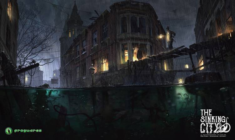 the sinking city cthulhu lovecraft