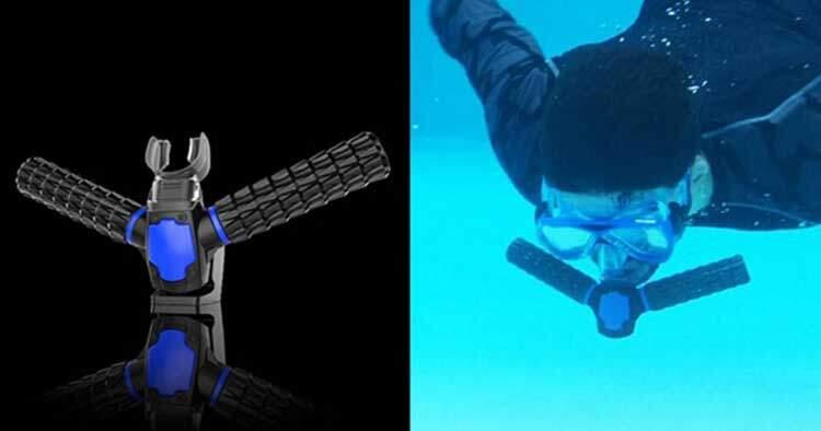 Triton: il respiratore subacqueo è solo fantasia. Rimborsati i sostenitori!