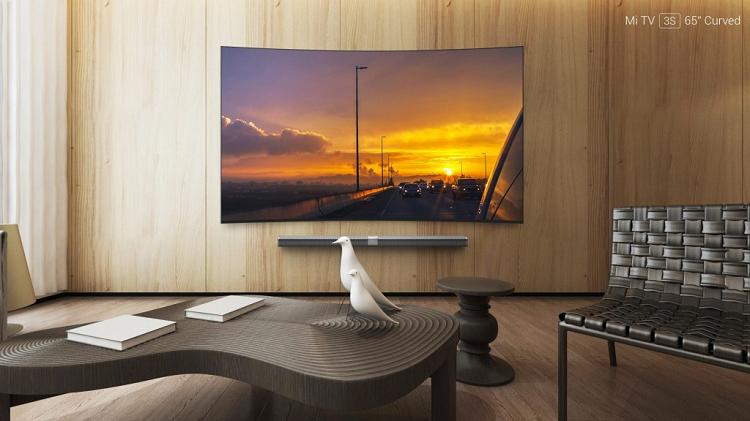 Xiaomi presenta Mi TV 3S: c'è un display curvo da 65″!