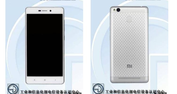 Xiaomi Redmi 3S certificato da TENAA: c'è il sensore di impronte