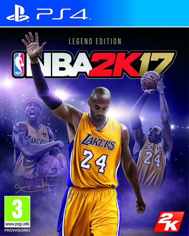 NBA 2K17 Legend Edition cover
