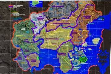 Red Dead Redemption 2 mappa map leak