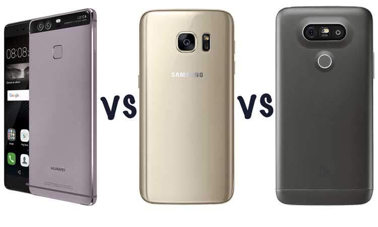 Huawei P9 vs Samsung Galaxy S7 Edge vs LG G5: fotocamere a confronto!