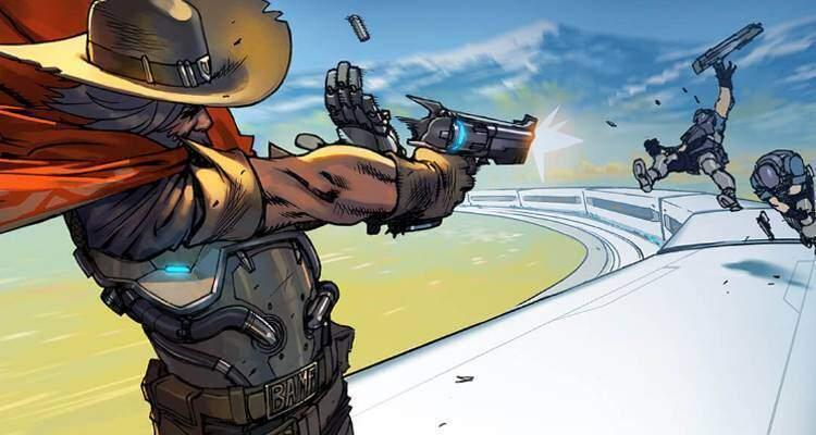 Overwatch presenta McCree nel suo primo fumetto