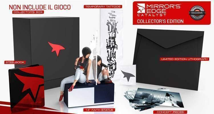Mirror's Edge Catalyst: nella Collector's Edition c'è di tutto ma non il gioco