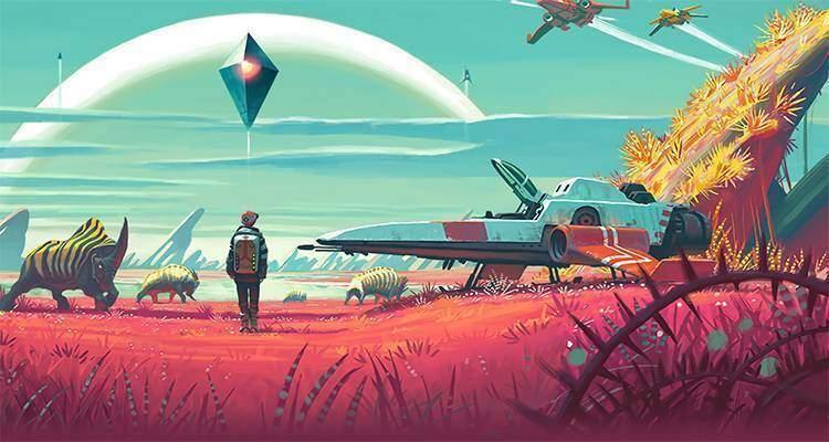No Man's Sky: nuovo video gameplay da oltre 20 minuti