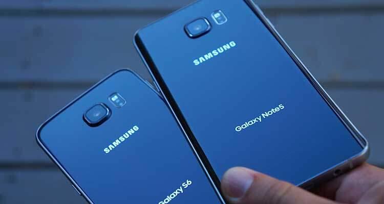Samsung Galaxy Note 6 forse in versione Edge e Flat