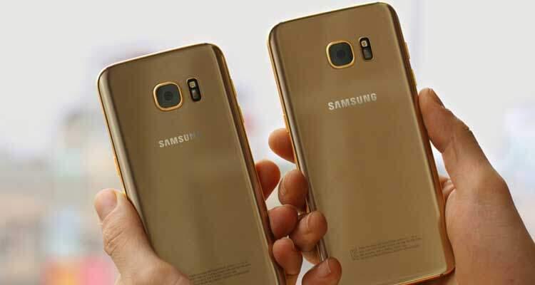 Samsung Galaxy S7 Edge: realizzata versione placcata in oro!
