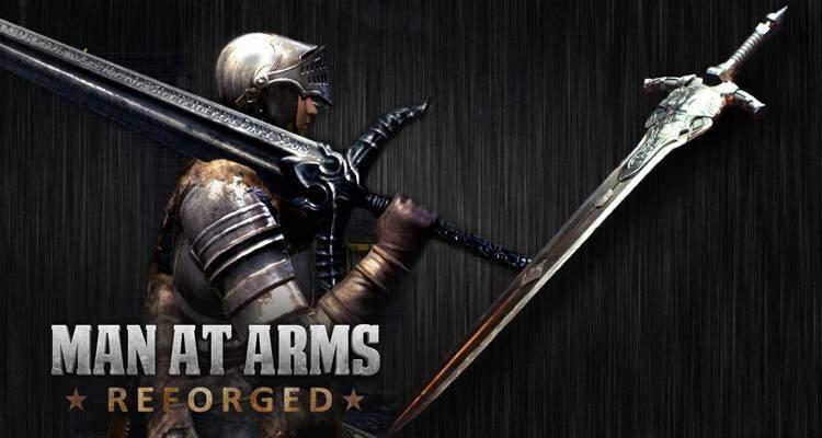 Dark Souls: Man at Arms Reforged forgia lo Spadone di Artorias