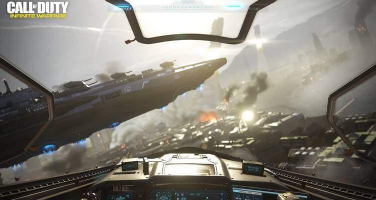 Call of Duty Infinite Warfare: gameplay trailer all'E3 di Sony