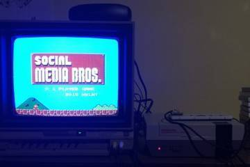 connected nes social media bros