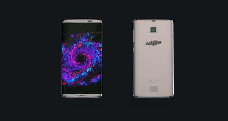Samsung Galaxy S8 appare in un (improbabile) concept