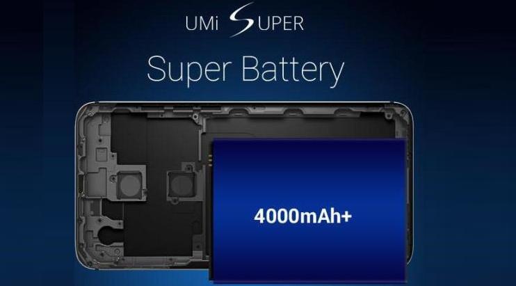 UMi Super, la scheda si aggiorna: spunta batteria da 4000 mAh