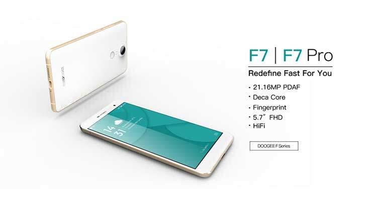 Doogee F7 Pro con Helio X20 e 4 GB RAM in preordine sotto i 250€!