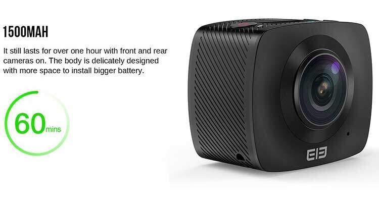 EleCam 360 in prevendita: l'action camera a 360° più economica