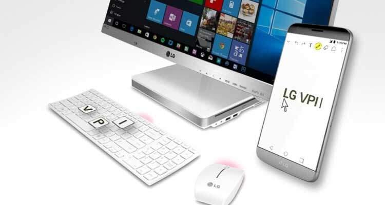 LG VPInput: ufficiale app per controllare G4, G5 e V10 da PC