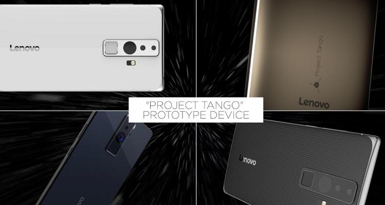 Lenovo balla il Tango di Google