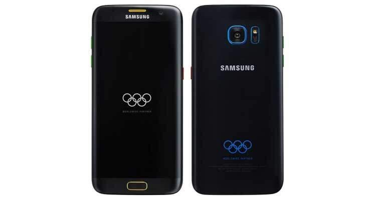 Samsung Galaxy S7 Edge Olympic Edition: eccolo in immagine!