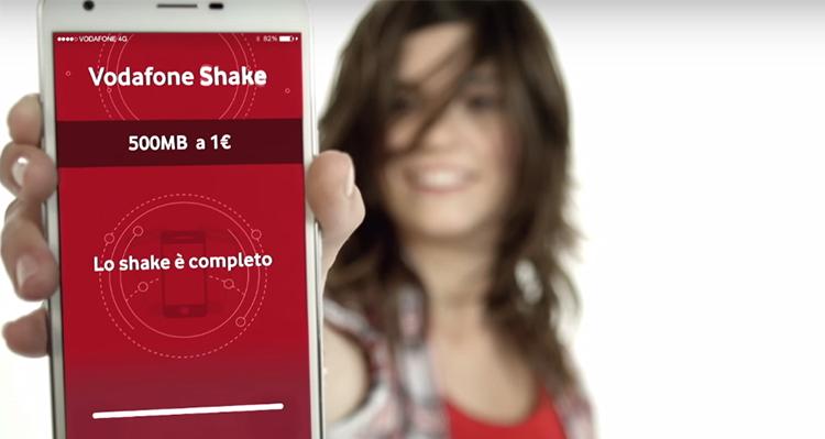 Vodafone Shake, nuovo piano per l'estate con 3GB di Internet!