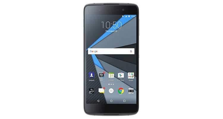 BlackBerry Neon: primo smartphone Android economico in foto