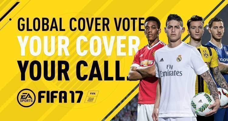 La copertina di FIFA 17 verrà decisa dai fan