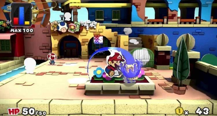 Paper Mario Color Splash non è un gioco di ruolo