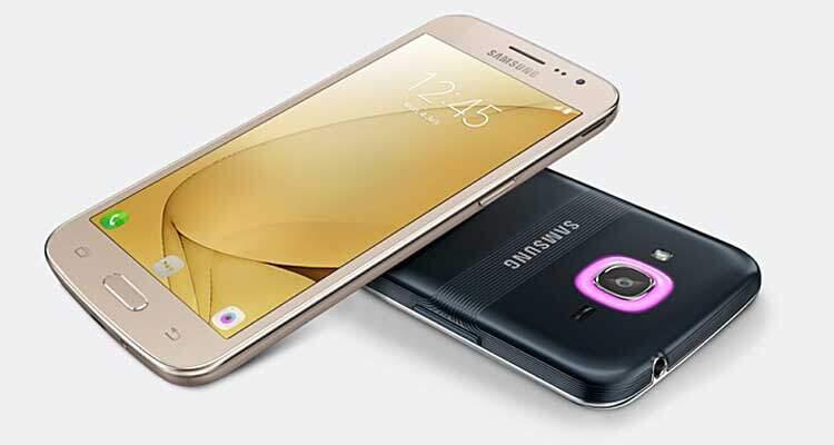 Samsung Galaxy J2 (2016) ufficiale con psichedelico LED notifiche