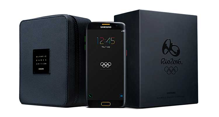Samsung Galaxy S7 Edge Olympic Edition va in preordine a 879€!