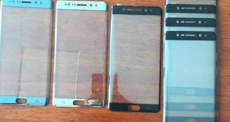 Samsung Galaxy Note 7, nuovi scatti: USB Type C e colorazioni