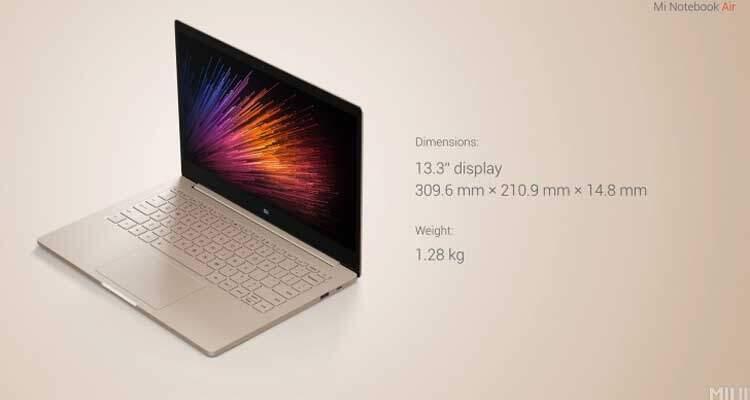 Xiaomi Mi Notebook Air è realtà: ecco le caratteristiche