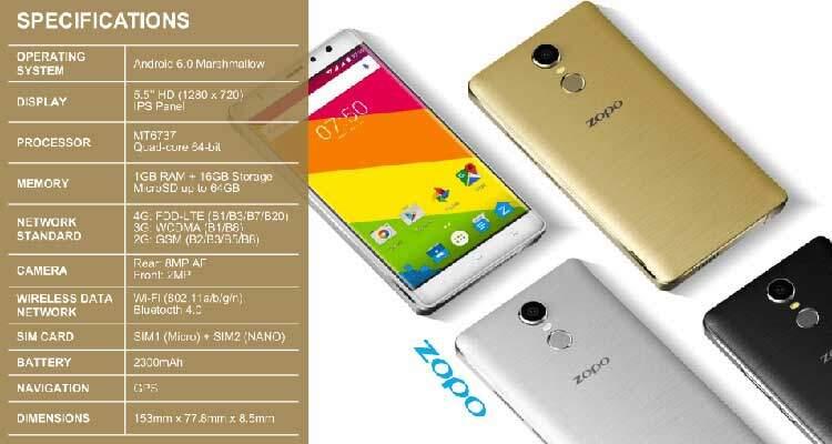 Zopo annuncia ben 3 smartphone che arriveranno in Europa