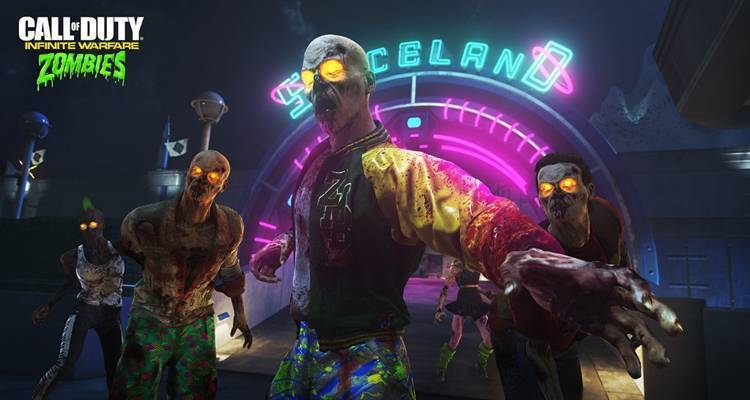 Call of Duty Infinite Warfare: annunciata Zombies in Spaceland