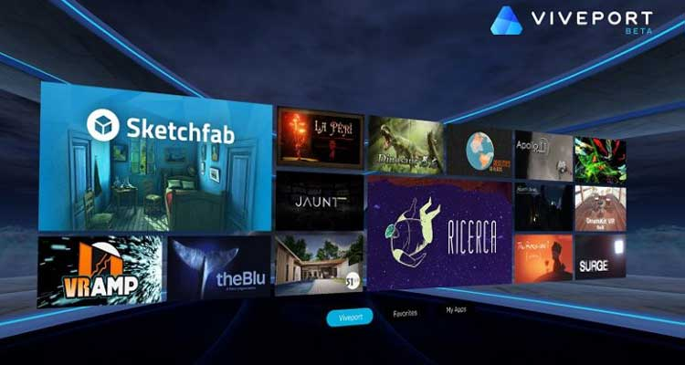 HTC Vive VR: annunciato uno store ufficiale