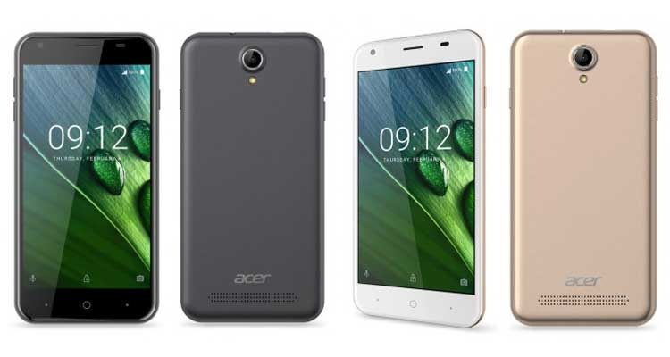 Nuovi Acer Liquid Z6, Z6 Plus ed Iconia Talk