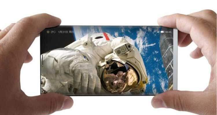 LeEco: nuovo concept mostra smartphone totalmente senza bordi