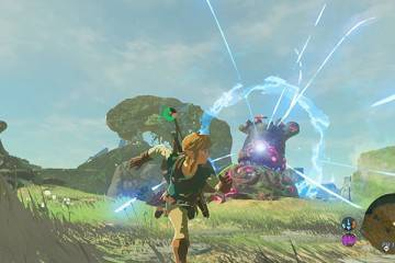 zelda breath of the wild nintendo nx