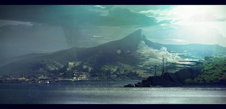 Dishonored 2 concept art
